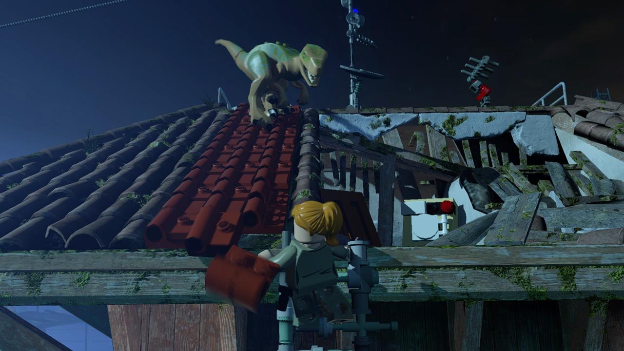 Lego Jurassic World3 Jadorendr